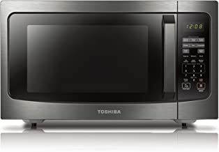 Toshiba ML-EM45P(BS) Countertop Microwave oven with Smart Sensor, Sound on/off Function and Position Memory Turntable, 1.6...