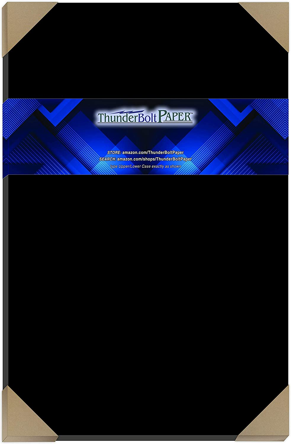 30 Dark Black Smooth Card Mail Outlet sale feature order cheap Sheets - 100 X 1 Pound 100# 11