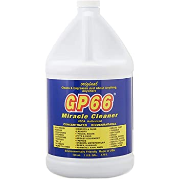 GP66 Green Miracle Cleaner Gallon (1, gal.) All Purpose Cleaner Kitchen Cleaner Bathroom Cleaner Laundry Detergent Cleaning Spray Cleans Just About Anything Oven Cleaner Grout Cleaner Cooktop Cleaner