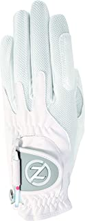 Zero Friction Null Reibung Damen-Compression-fit Synthetik Golf Handschuhe, Universal Fit One Size