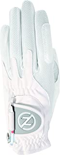 Zero Friction Ladies Compression-Fit Synthetic Golf Gloves,  Universal Fit One Size