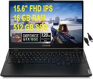 2021 Flagship Lenovo Legion 5 ゲーミングノートパソコン 15.6インチ FHD IPS 120Hz AMD Octa-Core Ryzen 7 4800H (ビートズ i7-9750H) 16GB RAM 512G...