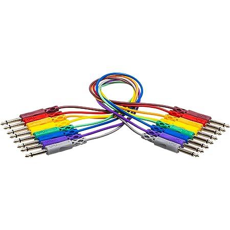 Hosa CPP-830 - Cable patch jack TS (6.3 mm, patch, no-balanceado, 30 cm)