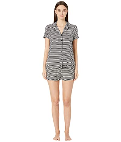 Kate Spade New York Modal Jersey Short Pajama Set (July Stripe) Women