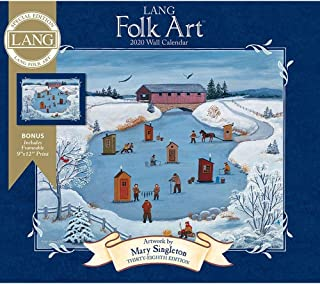 2020 Lang Folk Art Special Edition Wall Calendar, by Lang Companies