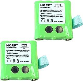 HQRP TWO Batteries for Motorola KEBT-072, KEBT-072-A, KEBT-072-B, M370H1A, BNH370, BATT-8R