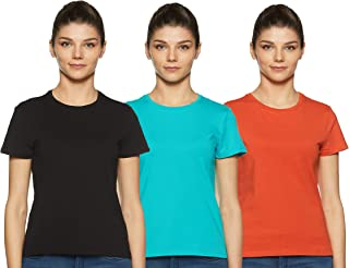 Amazon Brand - Symbol Women Core plain