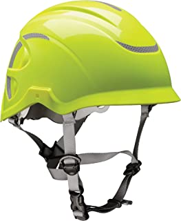 MSA 10186494 Nexus Height Master Climbing Vented Helmet, Hi-Viz Yellow