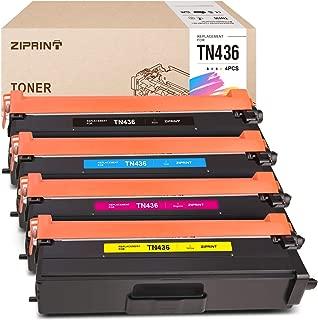 ZIPRINT Compatible Toner Cartridge Replacement for Brother TN436 TN-436 TN436BK TN436C TN436M TN436Y for MFC-L8900CDW HL-L8360CDW HL-L8260CDW MFC-L9570CDW MFC-L8610CDW HL-L9310CDW (4-Pack)