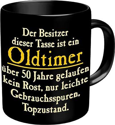 Fun Tasse mit Spruch - Oldtimer zum 50. Geburtstag - 50 Jahre preisvergleich bei geschirr-verleih.eu