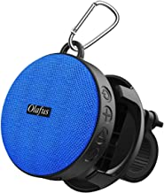 Olafus Bluetooth Bike Speaker with Detachable Bicycle Mount, IPX7 Waterproof, Shockproof & Dustproof for Outdoor Riding, Bluetooth 5.0 & HD Sound, 10H Playtime, Built-in Mic