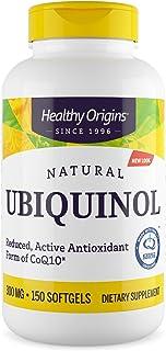 Healthy Origins Ubiquinol Soy Free/Non-GMO Gels, 300 Mg, 150 Count