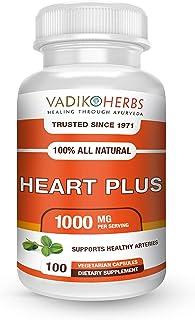 Heart Plus by Vadik Herbs | Herbal Treatment for Healthy Cardiac Heart Care | Heart Health Dietary Supplement (1 Pack)