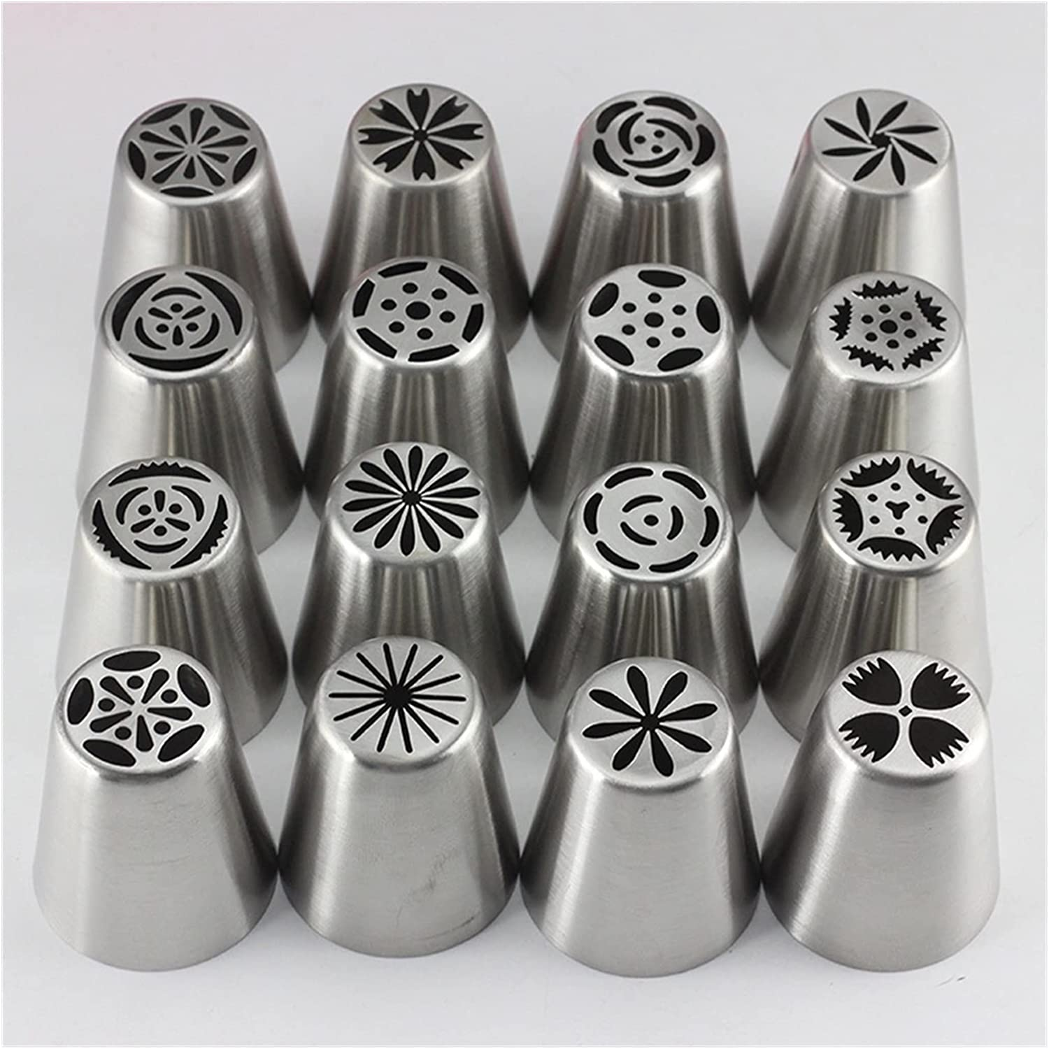 Piping Tips 16Pcs Tulip Icing Tip Virginia Beach Mall Cake Decoration Cheap mail order sales Nozzles