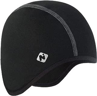 NAVISKIN Fleece Skull Cap Cycling Running Skiing Helmet Liner Thermal Beanie Fits Under Helmets