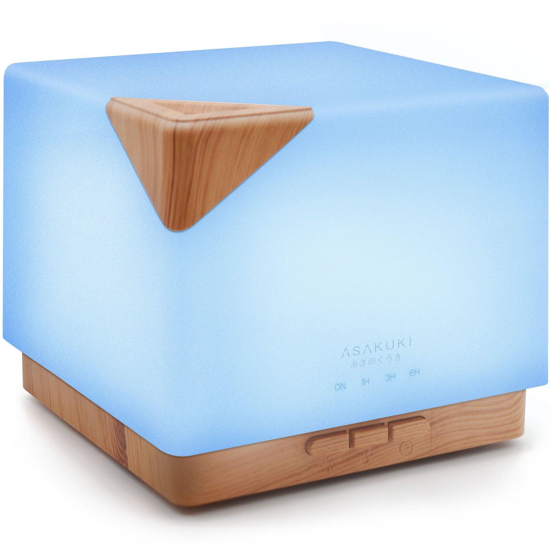 ASAKUKI Essential Ultrasonic Aromatherapy Humidifier