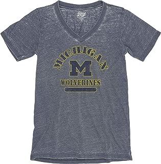 NCAA Womens Vneck Tshirt Burnout