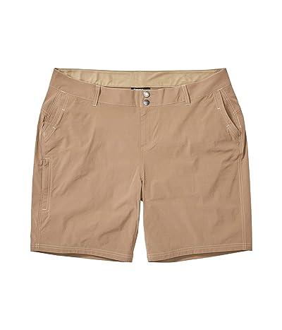 Marmot Plus Size Kodachrome Shorts (Desert Khaki) Women