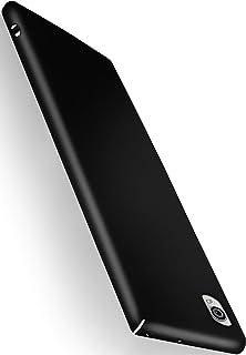MoEx® Funda Trasera [Ultrafina] Compatible con Sony Xperia X | Metálico Mate Noir