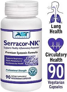 AST Enzymes Serracor-NK Systemic Enzymes 90 Capsule Bottle