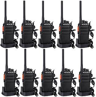 Retevis RT24 Walkie Talkie Profesionales PMR446 sin Licencia 16 Canales CTCSS DCS Walkie Talkie Recargable con Cargador US...