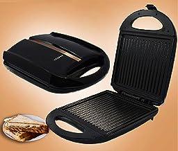 Sandwich Machine Ontbijt maker Elektrische Bakplaat Cuisine ware Panini persen Wafel broodrooster barbecue EU plug QZQQ