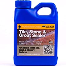 Miracle Sealants TSS PT SG Tile/Stone and Grout Economical Sealer, 1 Pint Bottle