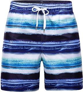 mens african print swim trunks