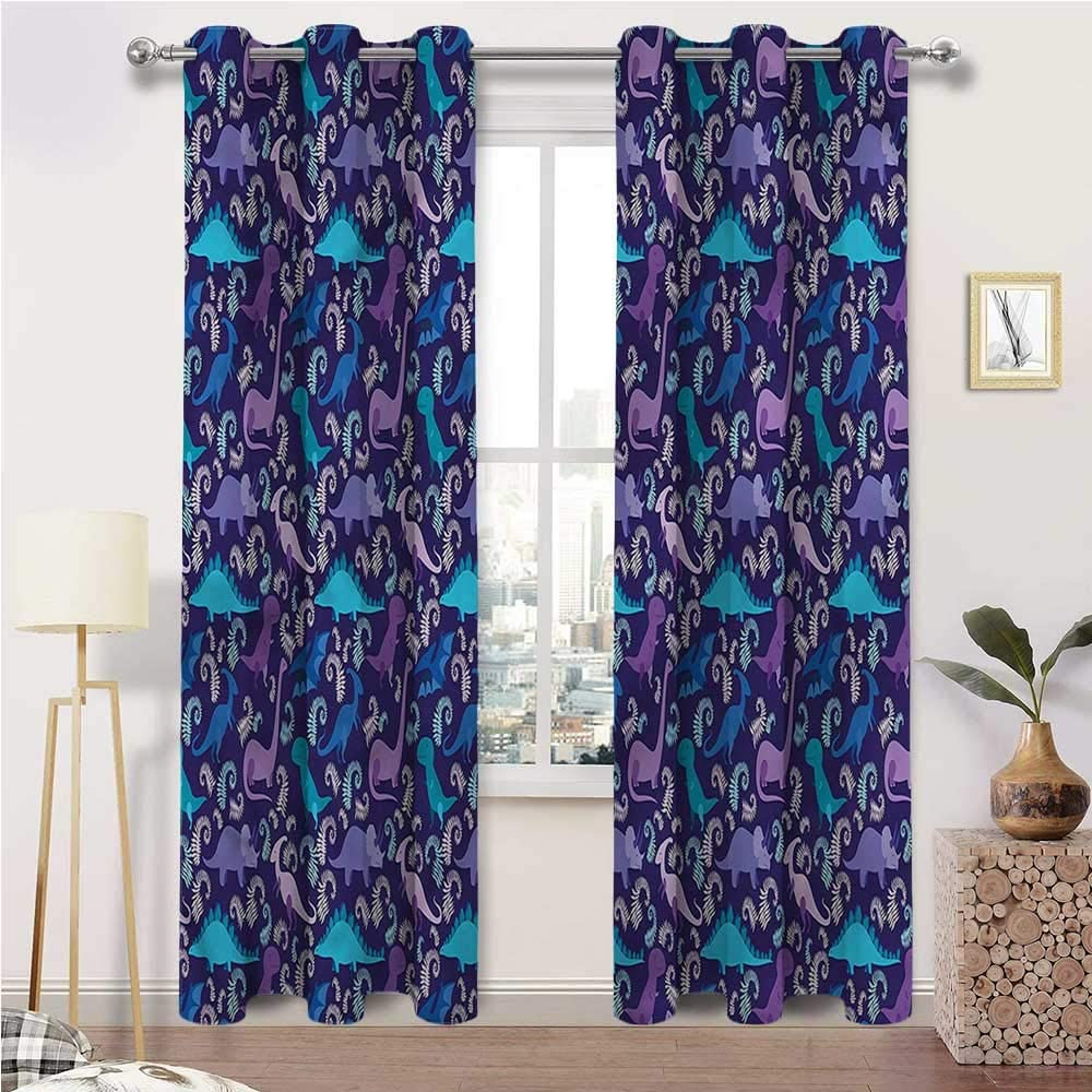 Kids Max 55% OFF Blackout Curtains Jurassic Insulate Max 87% OFF Darkening Thermal Room