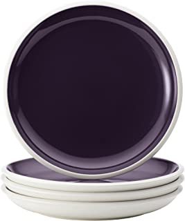 Rachael Ray 58721 Dinnerware Rise Salad Plate Set, 4 Piece, Purple