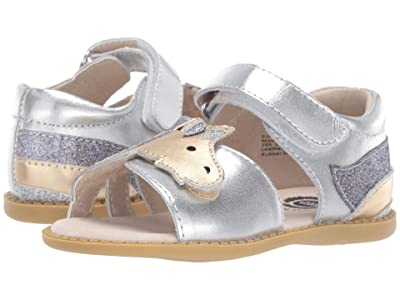 Livie & Luca Unicorn (Toddler/Little Kid) (Silver Metallic) Girl
