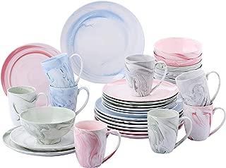vancasso Chloe 32 Piezas Juego de Vajilla de Porcelana