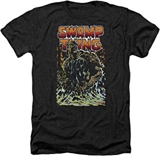 Justice League Swamp Thing Adult Heather Black