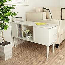 Bedside Table Drawer Locker-Solid Wood Furniture Bedside Tables Modern Simplicity Bedroom Storage Cabinet Coffee Table (Co...