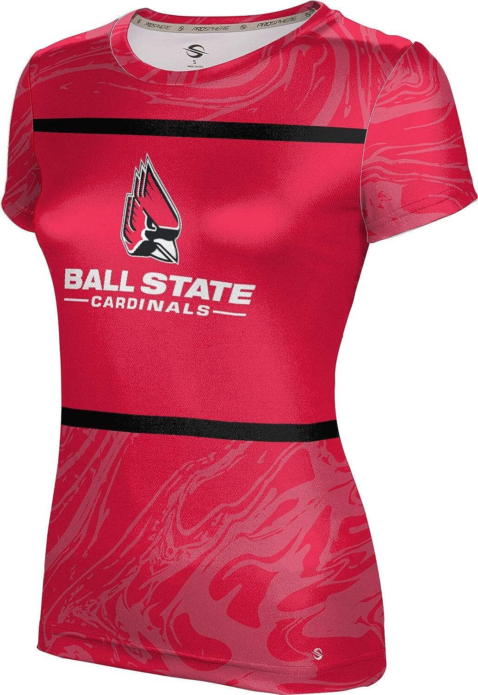 ProSphere Ball State University Girls' Performance T-Shirt (Ripple)