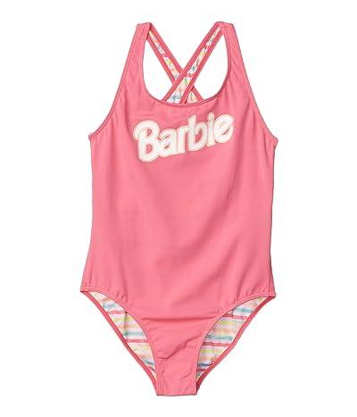 Roxy Kids Barbie One-Piece Swimsuit (Big Kids) (Pink Lemonade) Girl