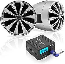 Lanzar Motorcycle Speaker and Amplifier System 700 Watt Weatherproof w/Two 3
