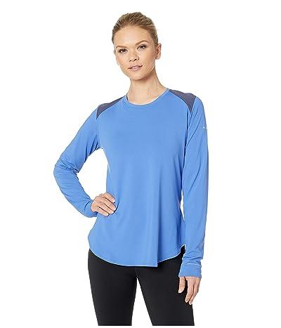 Columbia Saturday Trailtm Knit Long Sleeve Shirt (Arctic Blue/Nocturnal) Women