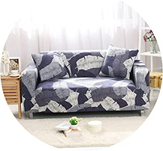 better-caress Stretch Sofa Cover Elastic funda Sofa Cubre Sofa L-Shape Armchairs Sectional Cover Sofa Towel Couch Cover niture Protector,Cr 21,3-Seater 190-230cm