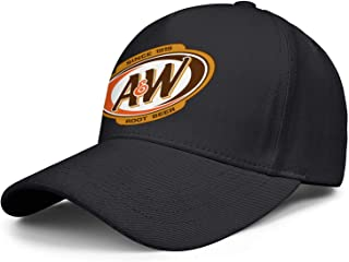 CAEEKER Men's Women's A&W-Root-Beer-Logo- Cap Casual Hat Sports Caps