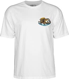Powell-Peralta Oval Dragon White Medium T-Shirt