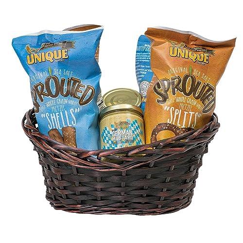 Unique Pretzels Diabetic Friendly Gift Basket