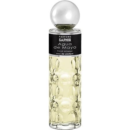 PARFUMS SAPHIR Agua de Mayo - Eau de Parfum con vaporizador para Hombre - 200 ml