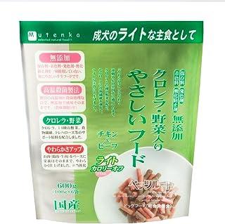 ペッツルート クロレラ・野菜入り やさしいフード ライト 600g