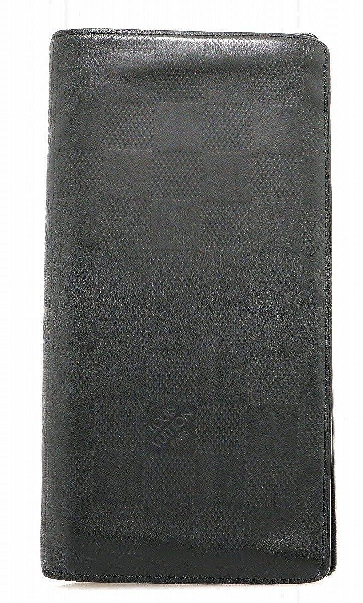 シャンプー祖父母を訪問シーズンルイヴィトン 財布 LOUIS VUITTON 2つ折り長財布 N63010 ダミエ アンフィニ ポルトフォイユ プラザ
