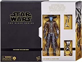 """Hasbro Star Wars The Black Series Cad Bane and Todo 360 Exclusive 6"""" Action Figure"""