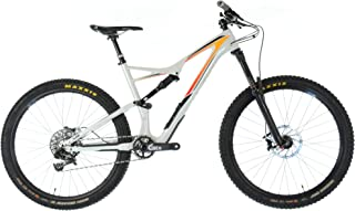 18543252104 SPECIALIZED 2016 STUMPJUMPER FSR 27.5 650B Carbon Mountain Bike/Large/White