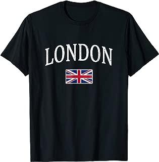 Vintage London T-shirt English Souvenir England Tourist