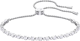 Women's Subtle Bracelet Jewelry Collection, Rhodium...