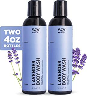 Sponsored Ad - Lavender Body Wash, Calming and Moisturizing Body Wash for Women and Men, Body Wash with Lavender Essential...